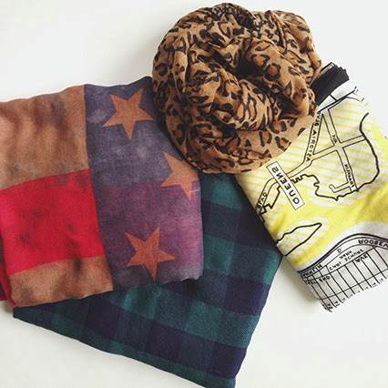 scarves, fall scarf, american flag scarf, plaid scarf, leopard print scarf, new york city map scarf