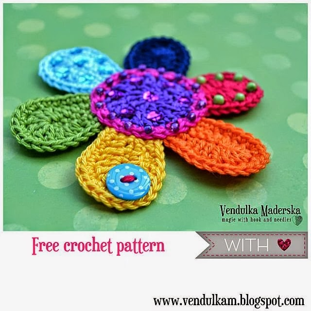 flower applique free pattern