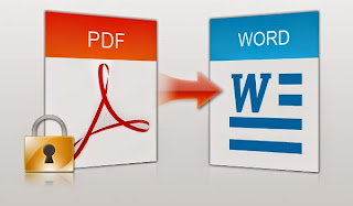 برنامج لتحويل ملفات pdf الى word