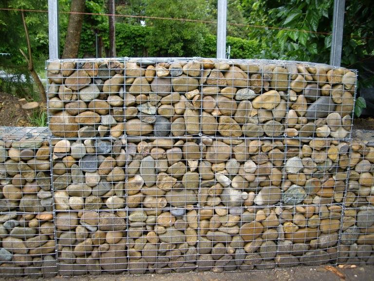 Gabion River Stone Facts Pod