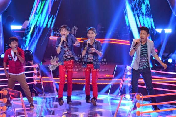 Darren vs JM and JC vs Sam Team Sarah Battles on 'The Voice Kids' Philippines