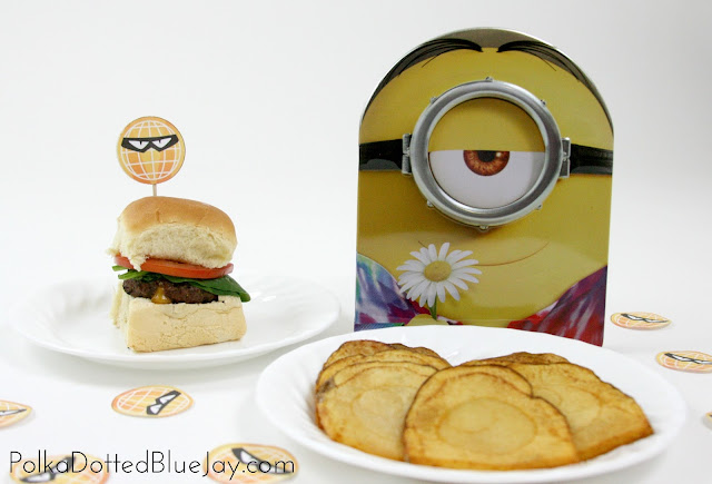 Bad Guy Mini Burgers make the perfect movie night snack for watching the newly released Minions movie! The molten cheese center is practically oozing with evil! It has never been so good to be bad. #MinionsMovieNight #CollectiveBias #ad