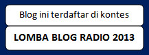 Lomba Blog Radio Losta 2013
