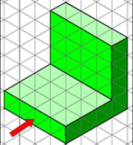 Figura 2- Diédrico- Vistas principales de un objeto