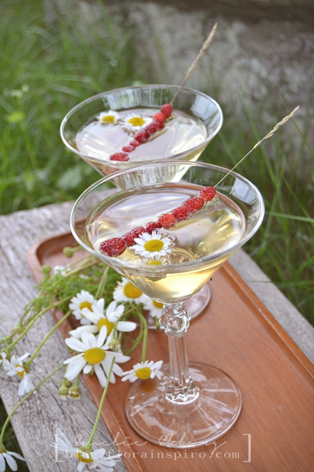 sommardrink, midsommardrink, midsummer drink, summer drink, summer drink elderflower wild strawberries, summer drink elderflower, summer drink wild strawberries, drink elderflower, drink wild strawberries, alkohilfri drink, non-alcoholic drink
