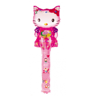 Balon Foil Tongkat Hello Kitty