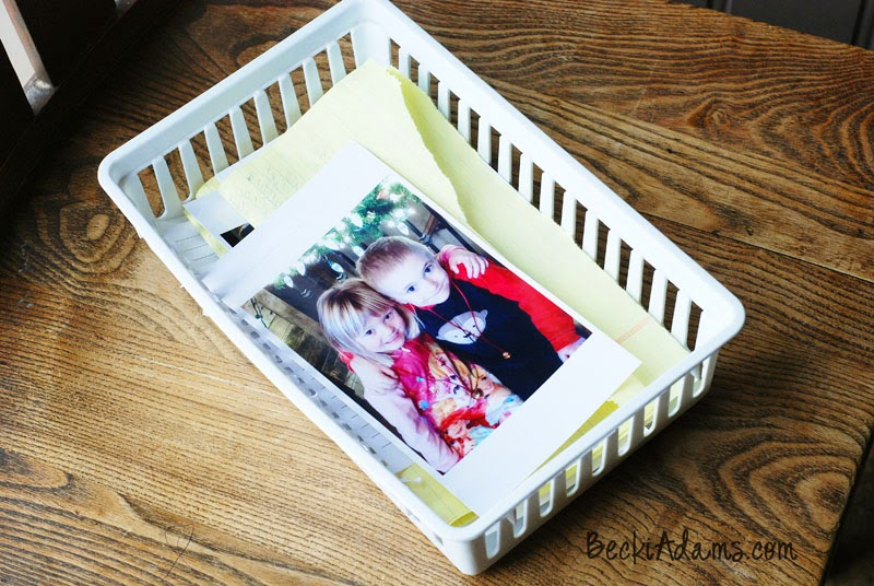 Photo storage tip by @jbckadams Becki Adams #scrapbooking #papercraft #photostorage