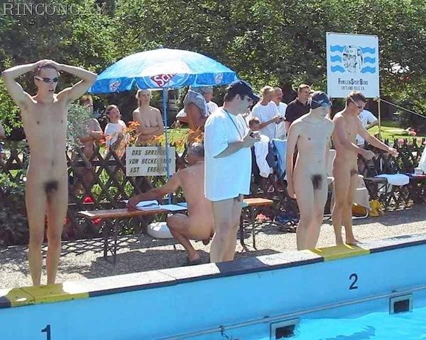 gender wars swim meet clip