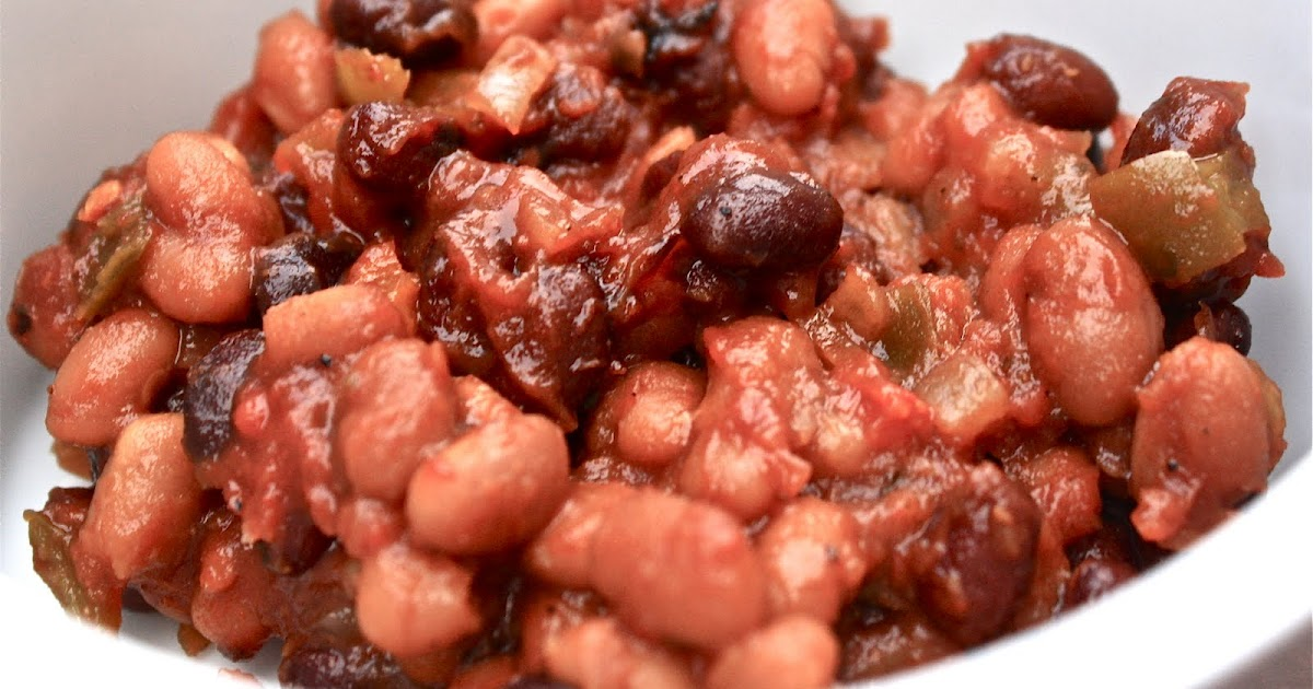 how to make baked beans in tomato sauce at home