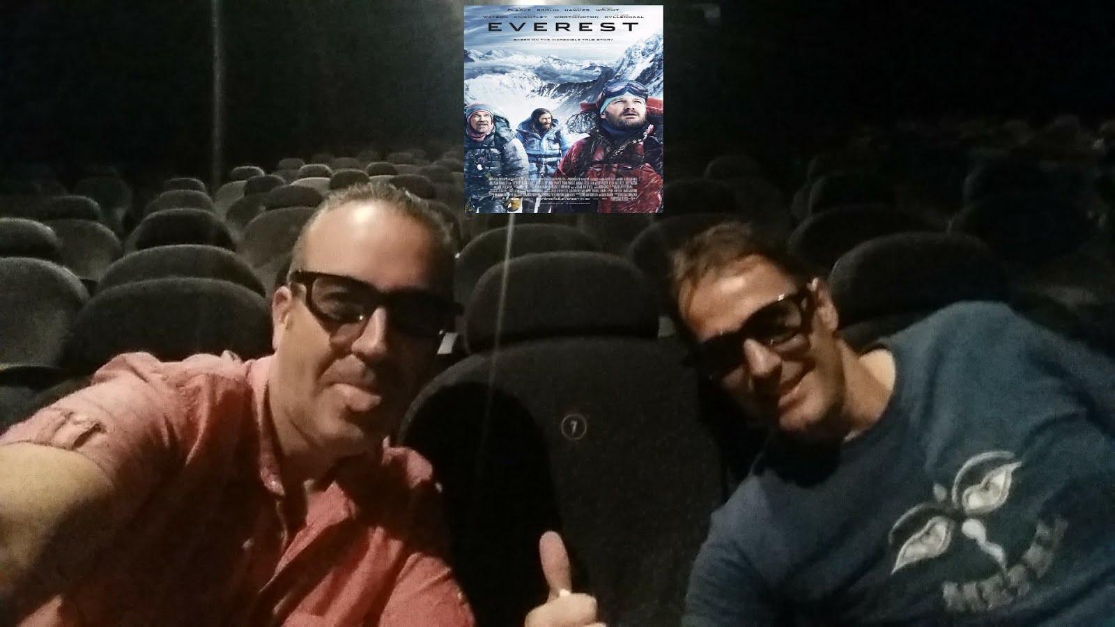 """Carlos&Kike en el estreno de """"Everest"""" en 3D"""