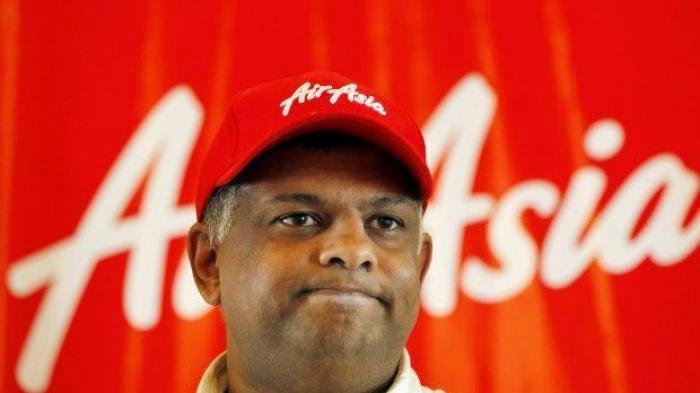 Topi Merah Tony Fernandes