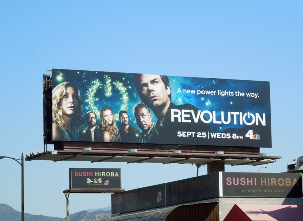 Revolution season 2 NBC billboard