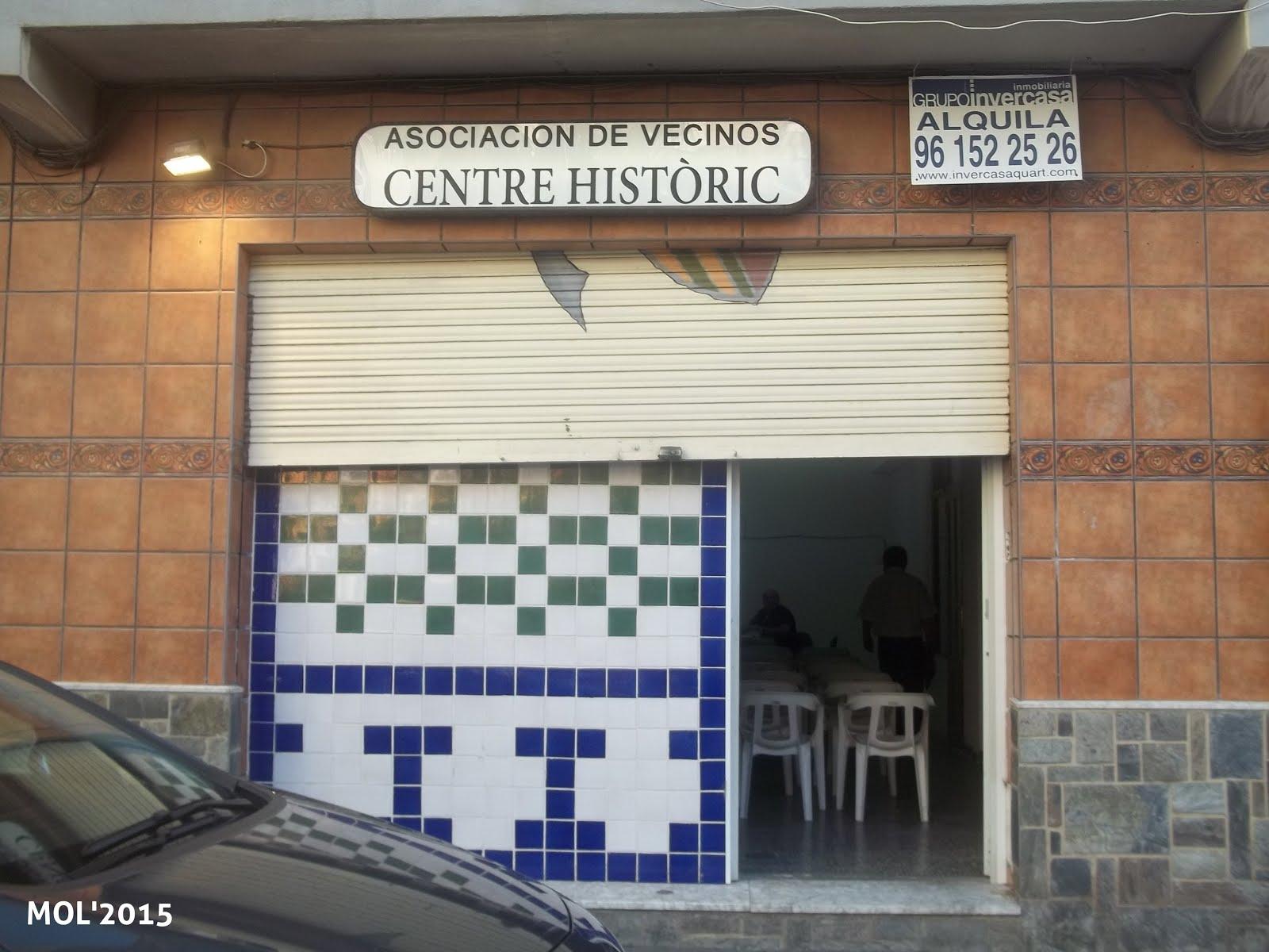 20.05.15 REUNIÓN DE LA ASOCIACIÓN DE VECINOS DEL CENTRO HISTÓRICO