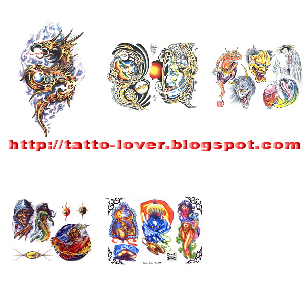 Amazing Fantasy Tattoo Designs 6