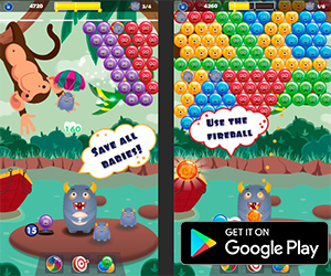 Puzzle Game of the Week - Smoke Bubble & Smoke Monsters