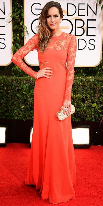 Louise Roe, Golden Globes, fashion, red carpet, awards show