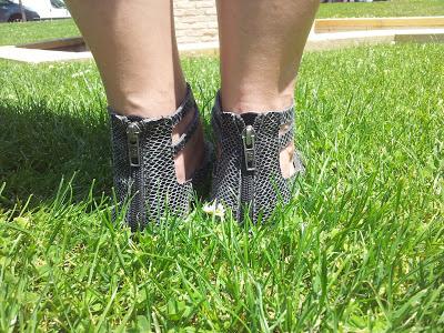 Sandalias romanas de Zara