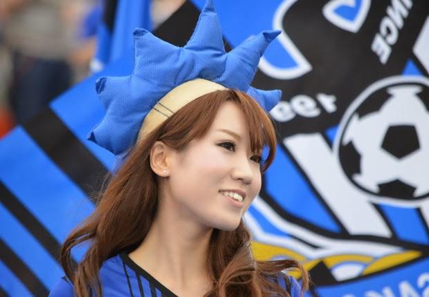Suporter Wanita J.League - Gamba Osaka