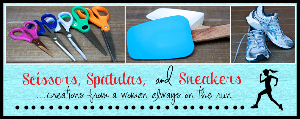 Scissors, Spatulas, and Sneakers