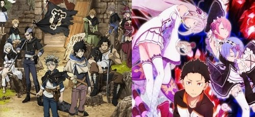 Crunchyroll terá bloco de animes na Rede Brasil com Black Clover e Re:Zero