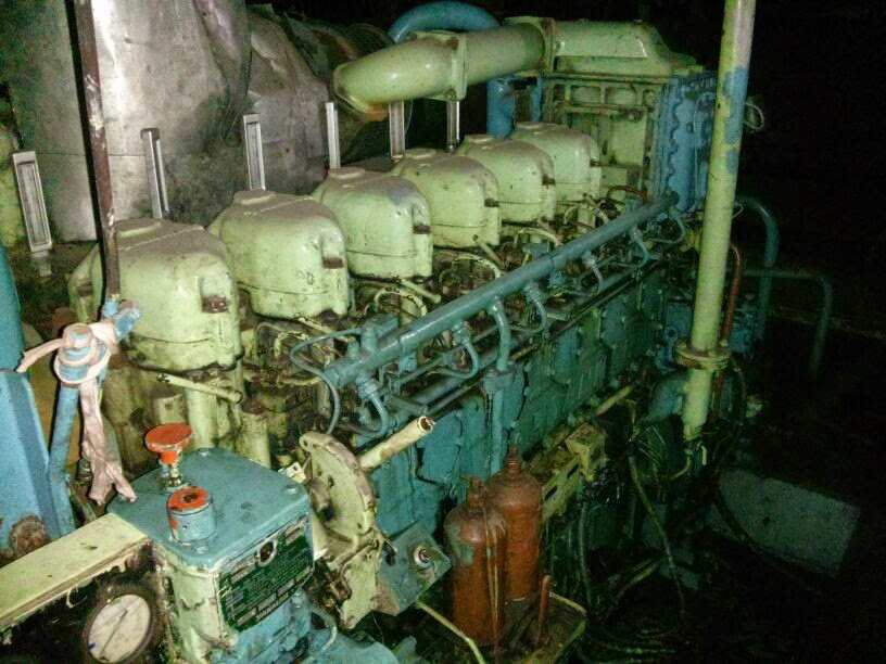 Yanmar marine boat engine with gear box, 800 PS, 750 HP Yanmar marine engines