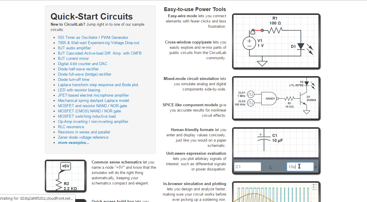 Summary Online Circuit Simulator Amp Schematic Editor Circuitlab Circuitsimulatorcircuits About Is An Inbrowser Capture And Simulation Software Tool To Help You