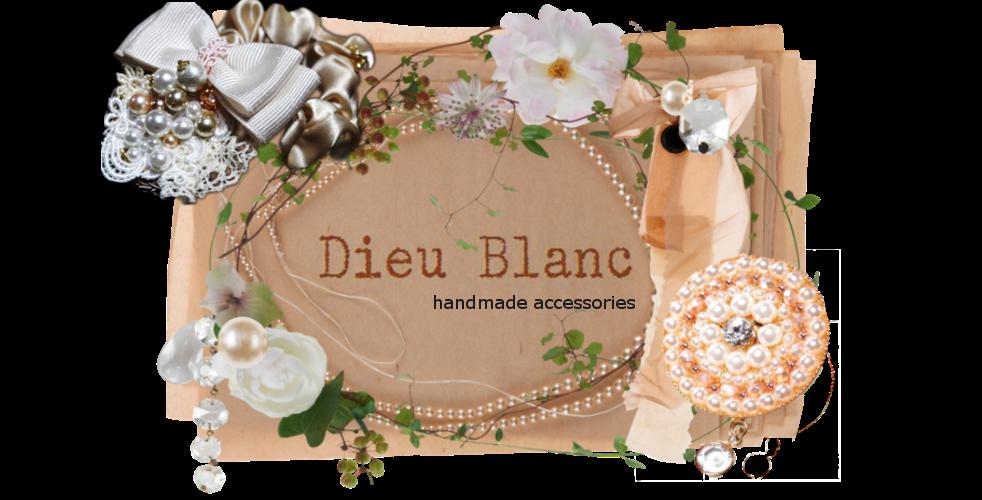 ハンドメイドアクセサリー-Dieu Blanc