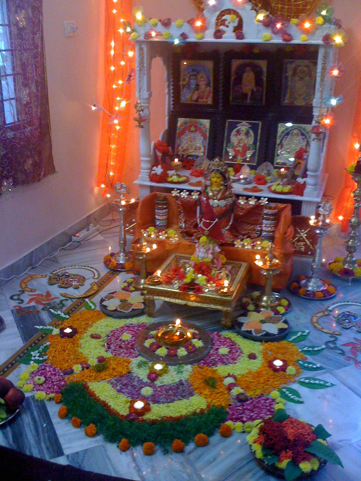 Pooja decorations for Www decorations home