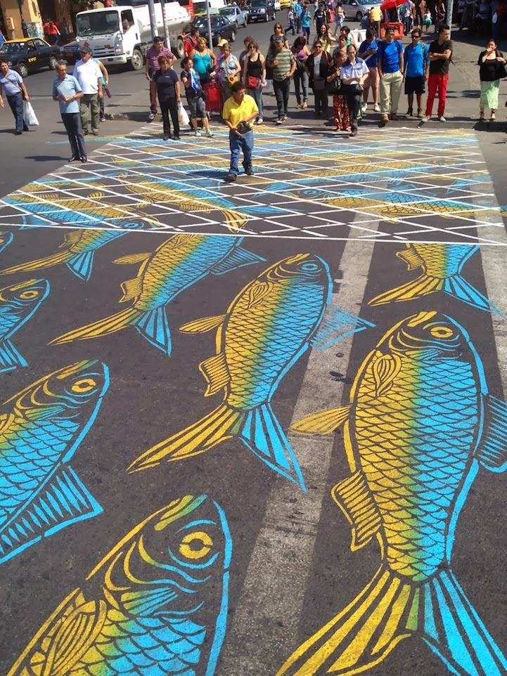Street Art - Pintando sobre el Asfalto 26
