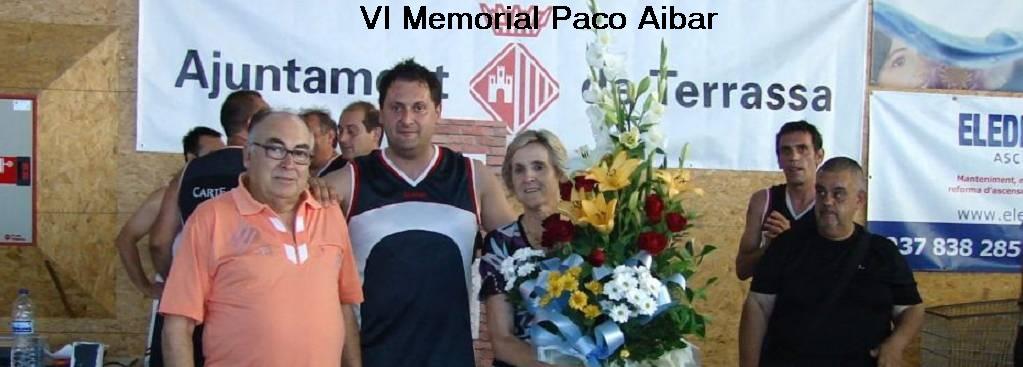 VI MEMORIAL PACO AIBAR