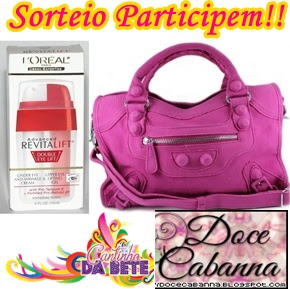 140 SORTEIO DOCE CABANNA + CANTINHO DA BETE