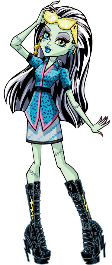 Monster High Frankie Stein, part 2