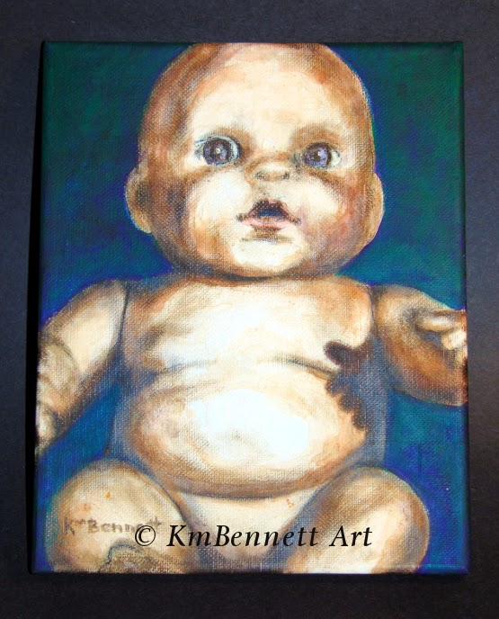 Painting: Baby Doll 04