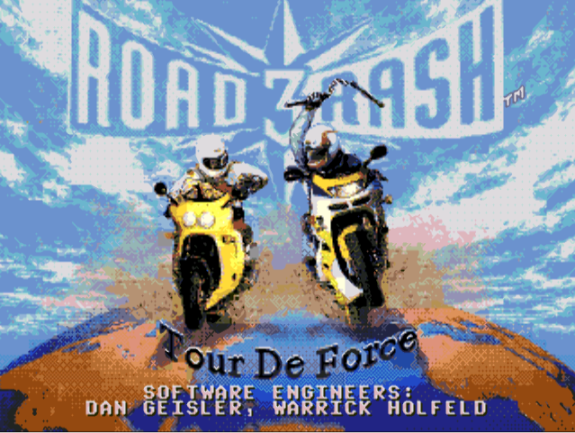 Road Rash 3 (Motosiklet Yar???) Sega Atari Oyunu indir