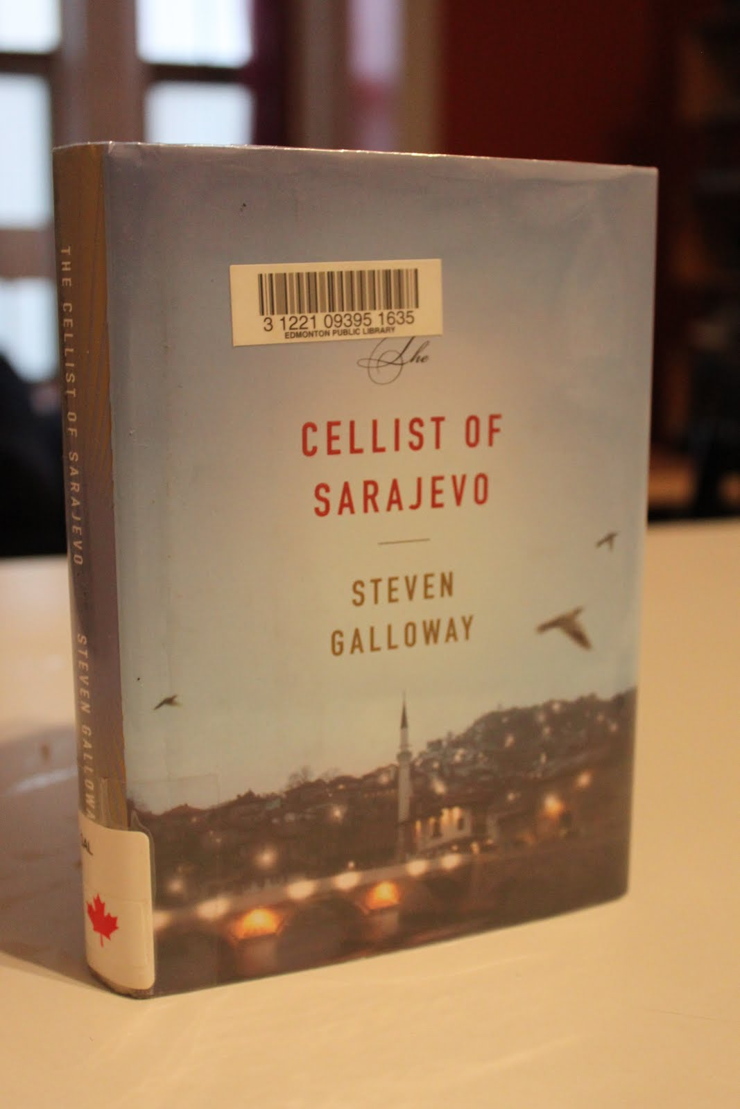 cellist of sarajevo Steven galloway, the cellist of sarajevo, melbourne: text publishing 2008,  isbn 9781921351303, rrp 2995.