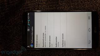 LG G2 Leaked Image
