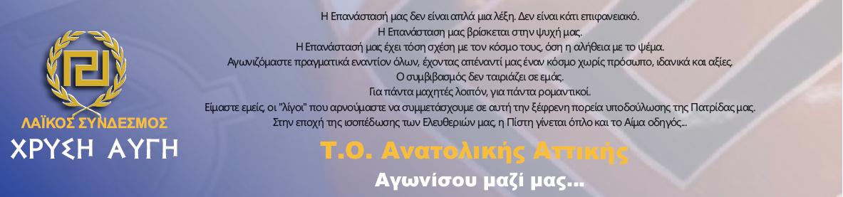 Χρυσή Αυγή - Τ.Ο. Ανατολικής Αττικής
