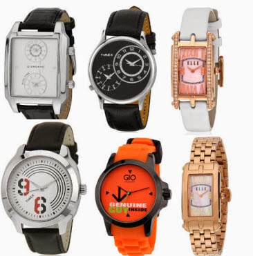 Jabong : Watches upto 75% + 40% off from Rs. 240