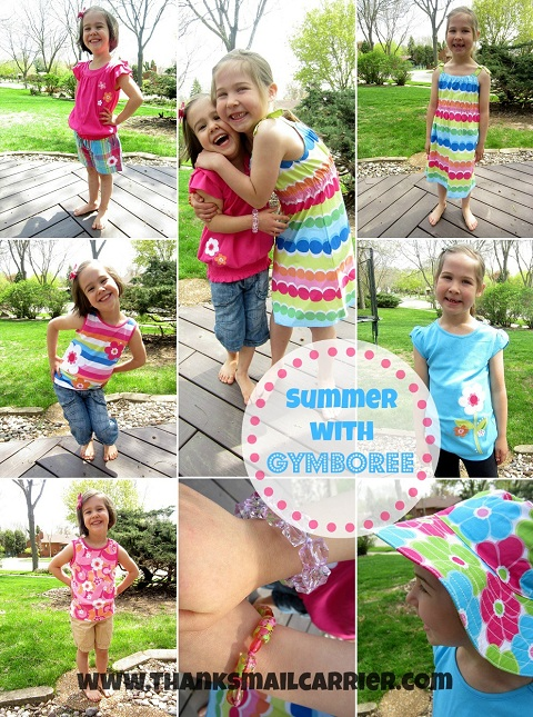 Gymboree girls summer clothing