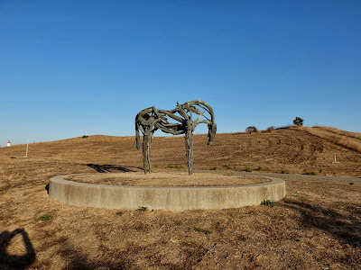 Deborah Butterfield Horse in Crittenden Site
