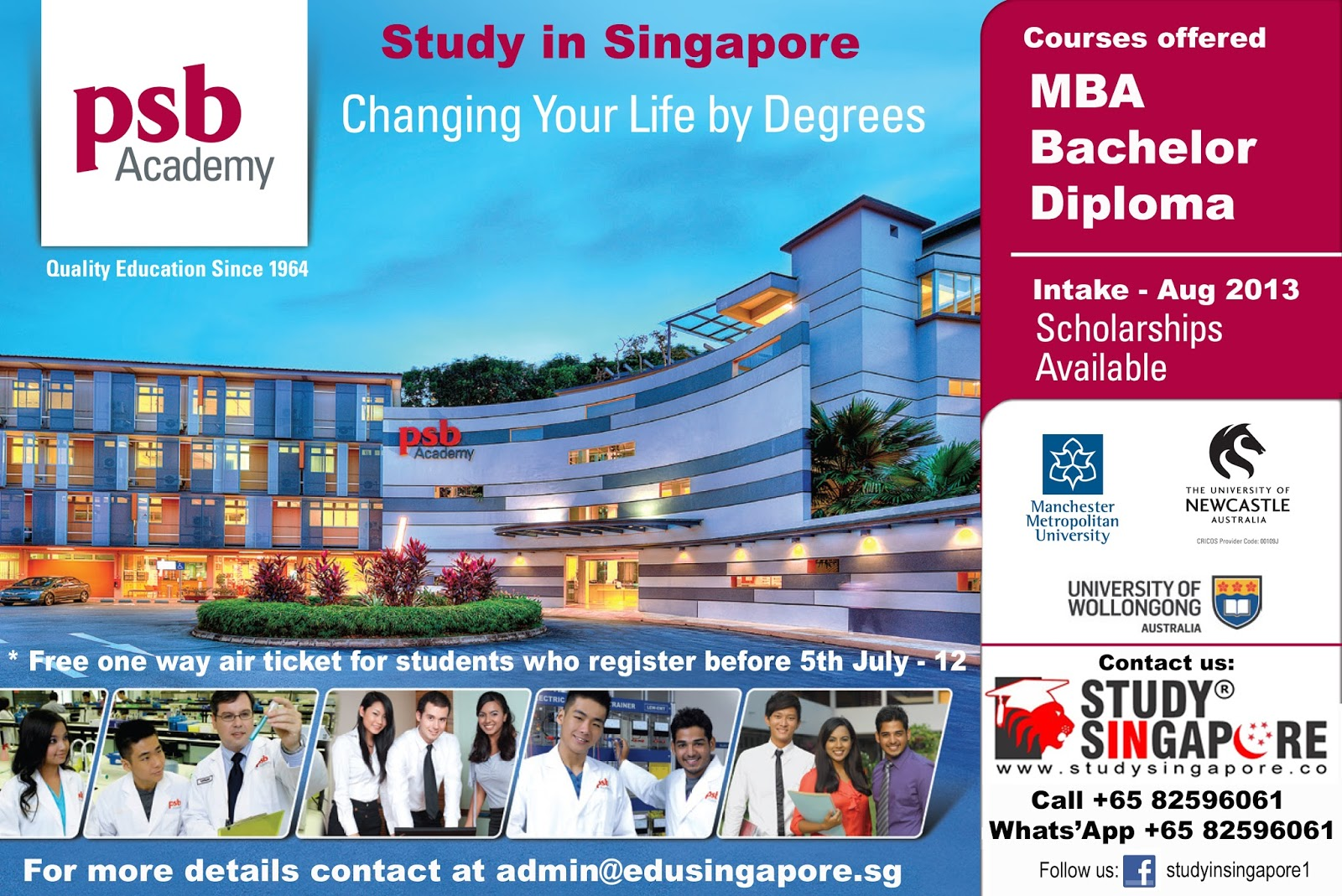 Study in Singapore - Colleges, Courses, Eligibility, Cost ...