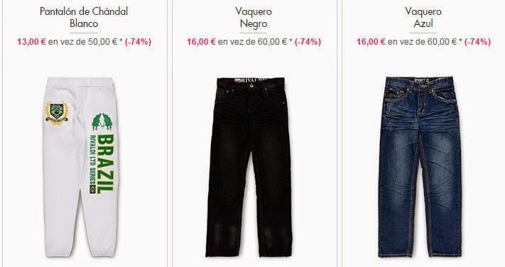 Pantalones nino