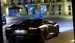 mobil lamborghini aventador hitam, review spesifikasi mobil pemain bintang