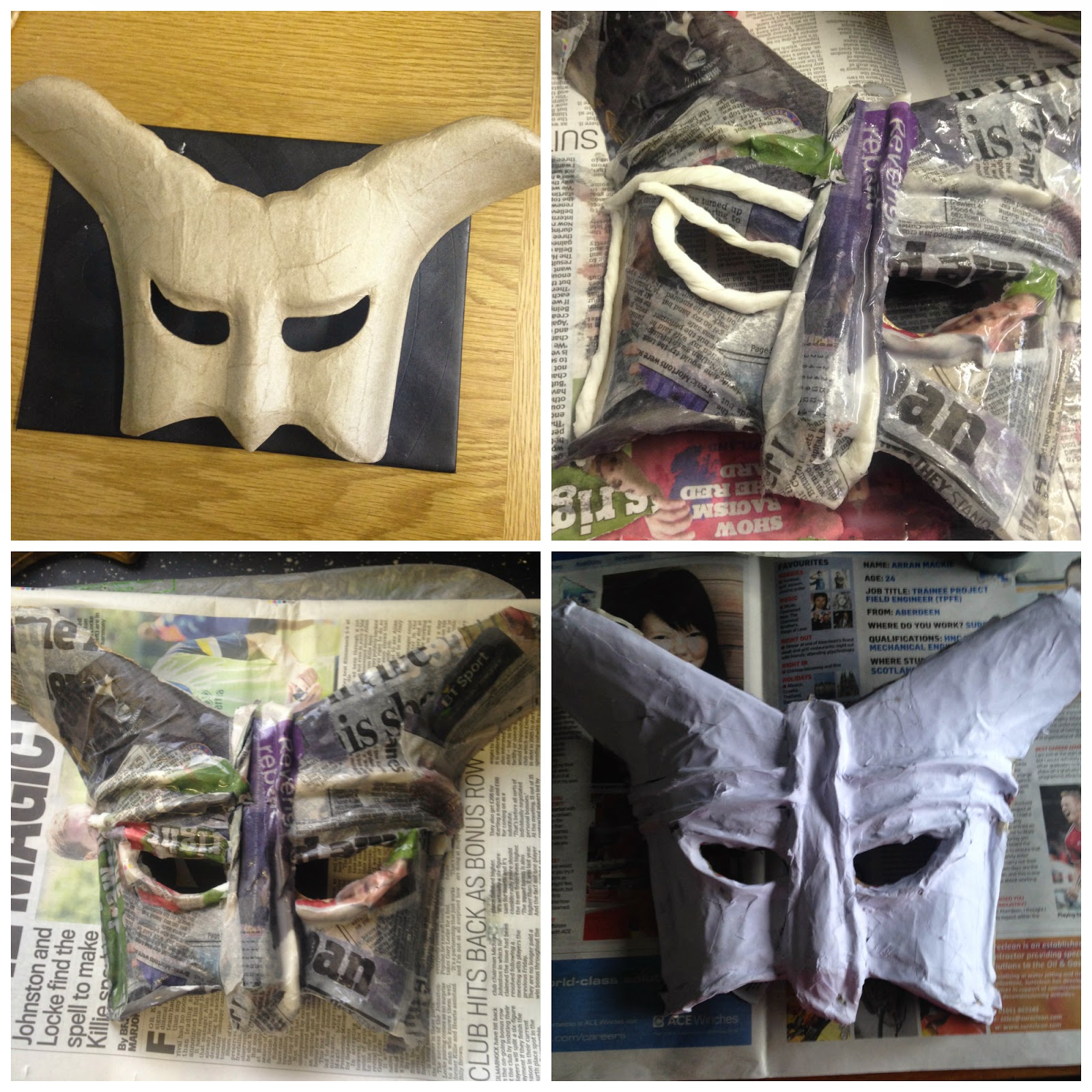 DIY Skyrim Mask