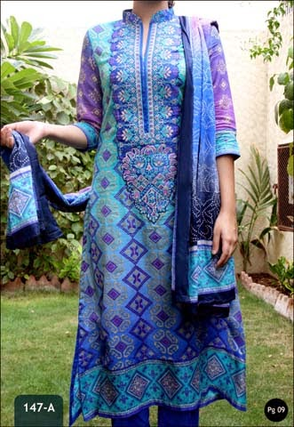 VS Textile Presents Designer Lawn Series Collection 2014