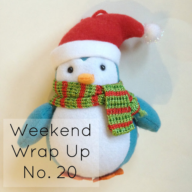 Weekend Wrap Up No. 20