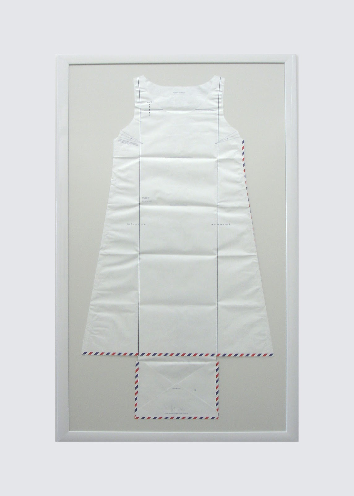 wearable object in fashion one more good one hussein chalayan airmail dress