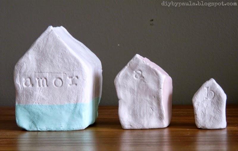 Casas arcilla blanca