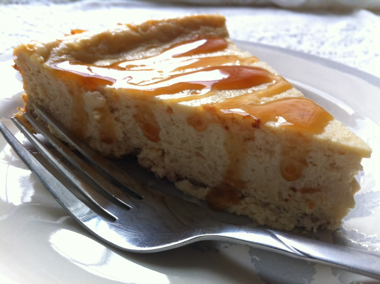 Caramel Macchiato Cheesecake Recipe ~ Easy Dessert Recipes