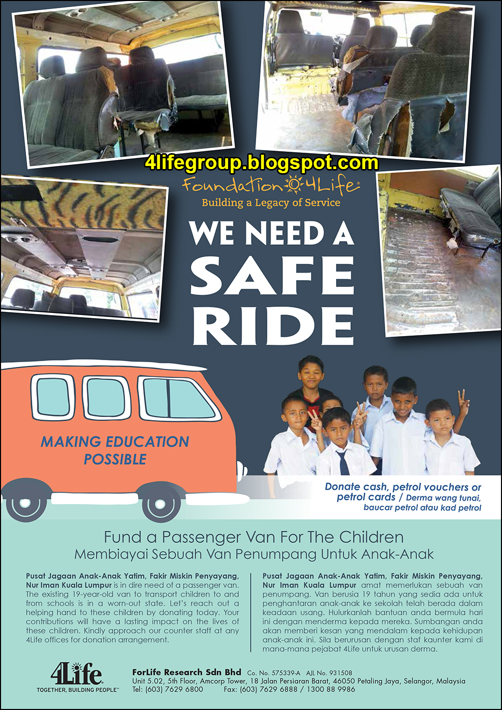 foto Foundation 4Life – We Need A Safe Ride
